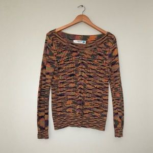Anthropologie Colorbright Knit Sweater